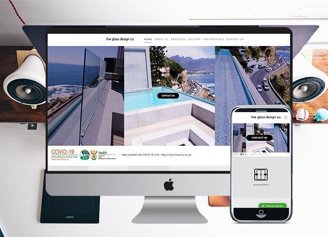 theglassco website 2